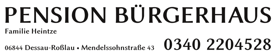 Pension Buergerhaus